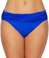 Bleu Rod Beattie Women's 170796 Sarong Hipster Bikini Bottom Swimwear Size 6