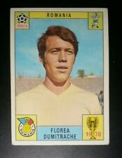 1970 PANINI MEXICO ORIGINAL WORLD CUP ROMANIA DUMITRACHE   STICKER UNUSED