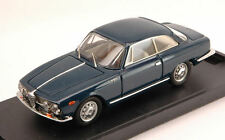 Alfa Romeo 2000 Sprint Street 1960 Blue 1:43 Model Bangkok