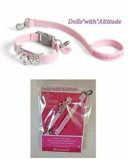 American Girl Jeweled Pet Collar and & Leash Set princess Cat Dog Puppy NEW!