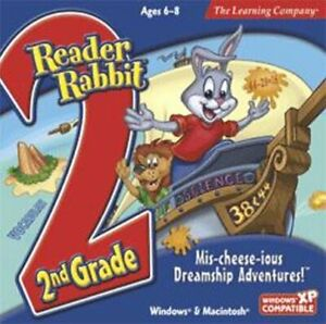 Reader Rabbit 2nd Grade Mis-Cheese-Ious Dreamship   Problem Solving   Win 7 8 10
