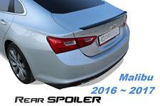 Rear Spoiler Garnish Cover G196 Carbon Black Ems 1P for Chevrolet Malibu 2016~19
