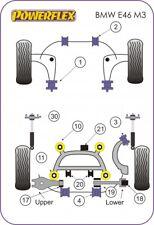 Powerflex Posteriore Diff Braccio Longitudinale Bush & Kit Per BMW E46 M3 PFR5-4620/4621/3608