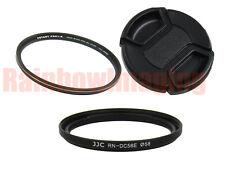 Accessory Kit Canon Powershot G1 X Mark II 58mm Adapter Ring MRC MCUV Filter Cap