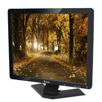 "Eyoyo 15"" Widescreen Gaming PC CCTV TFT LCD Monitor With BNC AV HDMI VGA Input"