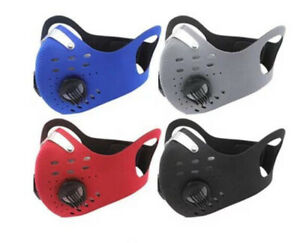 Bicycle Air Pollution Face Mask Cardio Running Cycling Fitness Gym Workout Mask