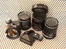 Pentax 6X7 Lens & Accessories Package [Read!-See Photos]