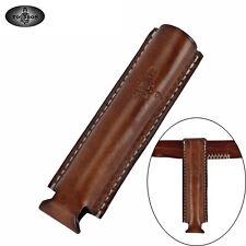 TOURBON Leather Stinger Battery Flashlight Mini Holster Pouch Belt Clip Holder