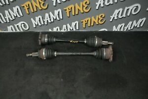 09-19 NISSAN 370Z REAR AXLE PAIR LEFT AND RIGHT OEM