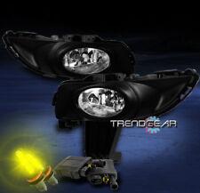 2004 2005 2006 MAZDA 3 MAZDA3 4DR JDM BUMPER CHROME FOG LIGHTS+3000K HID+HARNESS