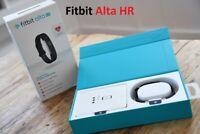 Fitbit Alta HR Fitness Wristband Activity Tracker Black Small FB408SBKS-EU