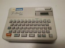 Brother PT-2000 P-Touch Lettering System Labeler