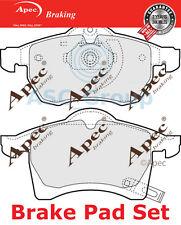 Apec Vorne Brems Scheiben Satz OE Qualität Ersatzteil Pad1023