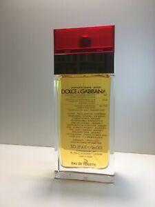 Dolce & Gabbana Pour Femme  Eau Toilette 100ml vap. Classic RED CAP. Rare.