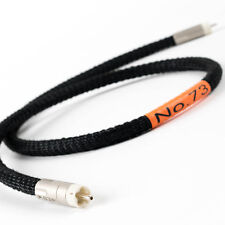 MCRU NO.73 | DIGITAL CABLE | PURE SILVER RCA CONNECTORS | 0.5 METRE