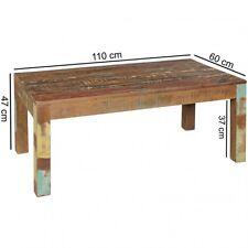 Table basse massivholztisch Surat 110x60cm bois Mangue SHABBY-CHIC