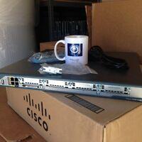 SHIP FAST CISCO CISCO2801-SEC/K9 2801 Security Bundle mem/flash upgr av.