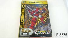 Cyberbots Fullmetal Madness Limited Edition Sega Saturn Japane Import Us Seller
