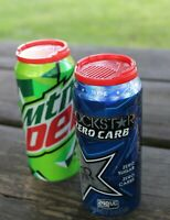 Anti-Bee & Bug Soda Beer Can Saver - Protect your Drink - Beverage Insect Free