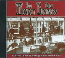 TOO MUCH MONKEY BUSINESS - GLOBAL BEAT 'n' GARAGE 64-67 23-track COMPILATION CD