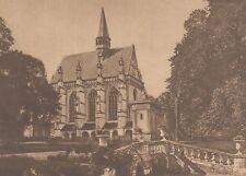 G2147 France - Champigny-sur-Veude - La Sainte Chapelle - 1932 vintage print