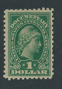 Bigjake: R217, $1.00 Documentary, inscribed Series of 1914