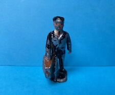 JOHILLCO RAILWAY PORTER WITH SUITCASE LEAD FIGURE VINTAGE 1940/50s JOHN HILL