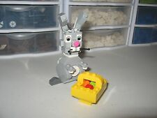LEGO    EASTER BUNNY & BASKET  RARE/ HARD TO FIND    BUILT FOR DISPLAY