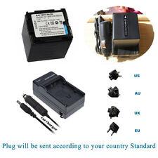 Battery CGA-DU21 DU21A/1B VW-VBD210 +Charger for Panasonic PV-GS NV-GS Series