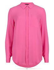 Marks and Spencer Women's Polyester Semi Fitted Hip Length Tops & Shirts