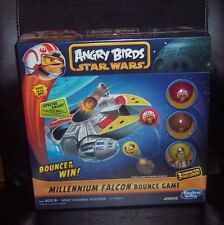 New Hasbro Star Wars Angry Birds Millennium Falcon Bounce Game SEALED