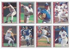 Chicago Cubs 1993 Fleer Final Edition team set - Turk Wendell, Randy Myers +++++