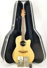 OVATION S861 BALLADEER SPECIAL ACOUSTIC ELECTRIC GUITAR WITH HARD CASE