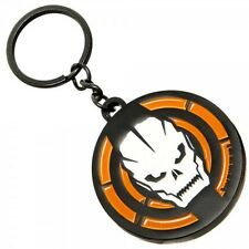 Call of Duty Collectible Skull Metal Keychain Key Ring Bioworld CoD Video Game