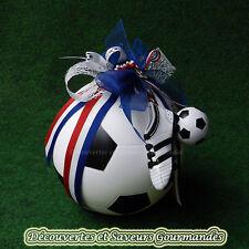 Ballon de foot TIRELIRE pour communion, anniversaire, dragees, bonbons