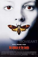 THE SILENCE OF THE LAMBS MOVIE POSTER FILM A4 A3 ART PRINT CINEMA