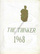High School Yearbook Haverhill Massachusetts Haverhill High School Thinker 1968