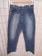 Men's Blue Jeans DELF Denim Jeans 34 x 34  #6208 100% Cotton NEW