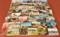 Lot of 43 Vintage Postcards USA & Foreign Several Early 20th Century