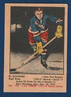 ED SLOWINSKI RC 51-52 PARKHURST 1951-52 NO 102 GOOD+ 23970