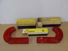 NOS PONTIAC 1962 BONNEVILLE TAIL LAMP LENSES FULL SET OF 4     9/12