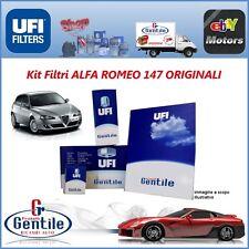 Kit de Filtres Alfa Romeo 147 1.9 JTD 16V CF3 140CV 103Kw UFI Original