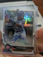 2018 Bowman Chrome Charger Burks Auto (6x) Card Lot Chicago Cubs Autograph