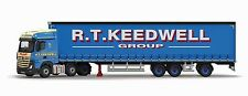 Corgi Cc15808 1/50 Mercedes Mp4 Super Trailer Curtainside Keedwell