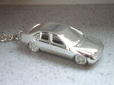 Schlüsselanhänger Mercedes C-Klasse W203 versilbert (5264)