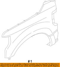 FORD OEM 17-18 F-250 Super Duty-Fender Right JC3Z16005B