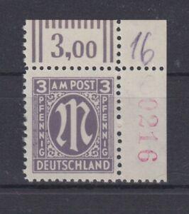 V. AM Post  17a Cz r4  Eckrand  geprüft Hettler  **