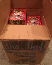1984 Donruss Baseball Wax Box BBCE AUTHENTICATED BEAUTIFUL GORGEOUS