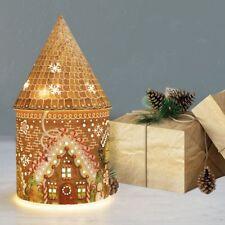 Festive Gingerbread Christmas LED Fairy House Christmas Lighting Decoration