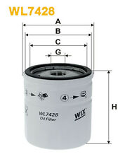 Wix WL7428 Car Oil Filter - Spin-On Replaces W71275 PH10008 OC4053
